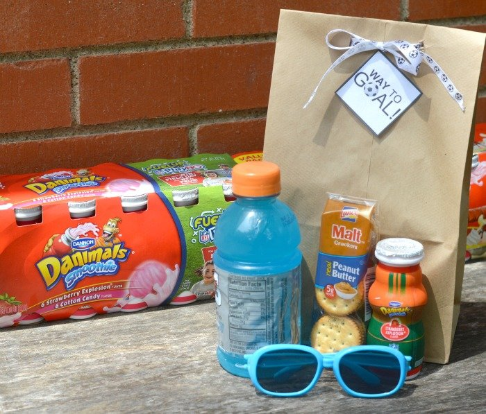 Way to Goal Soccer Snack Bags #FuelTheirAdventures [ad] #CollectiveBias