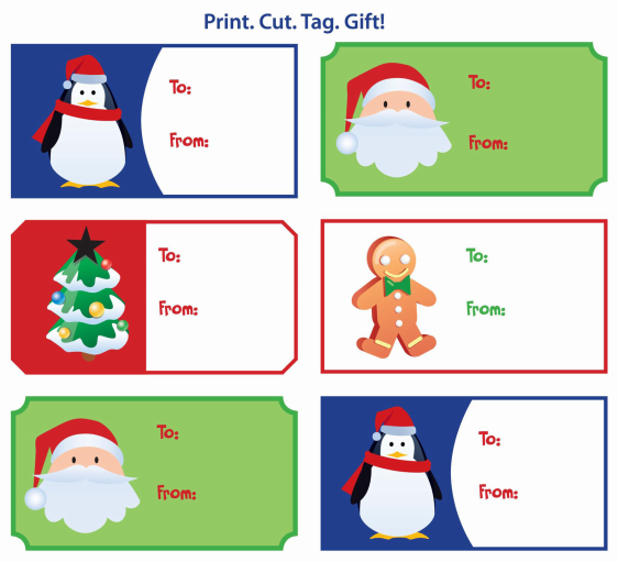 Gift Tags for printing