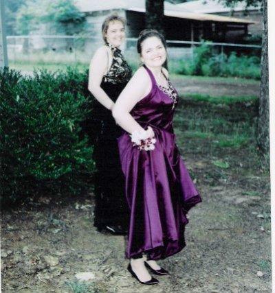 Prom Night 1995 with my best girlfriend