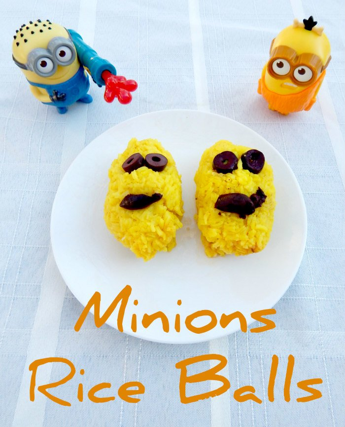 Minions Rice Balls #MinionsMovieNight [ad] #CollectiveBias