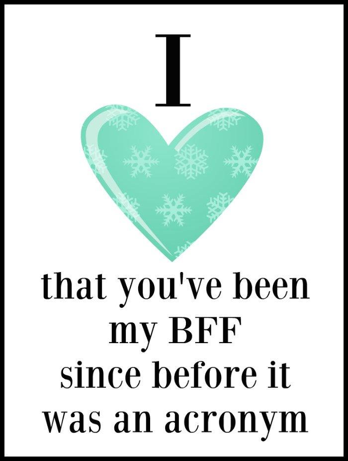 BFF valentine