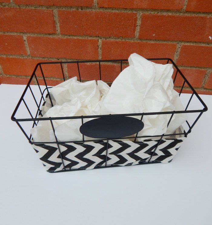 Step 1 - Pick a basket that will be great for a Valentine's Gift Basket for friends