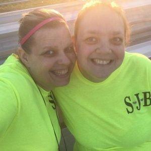 Pre run selfie Glow Run