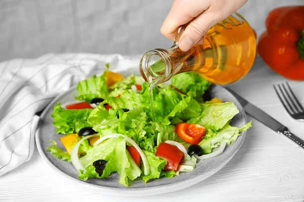 Vegetables and apple cider vinegar for weight loss